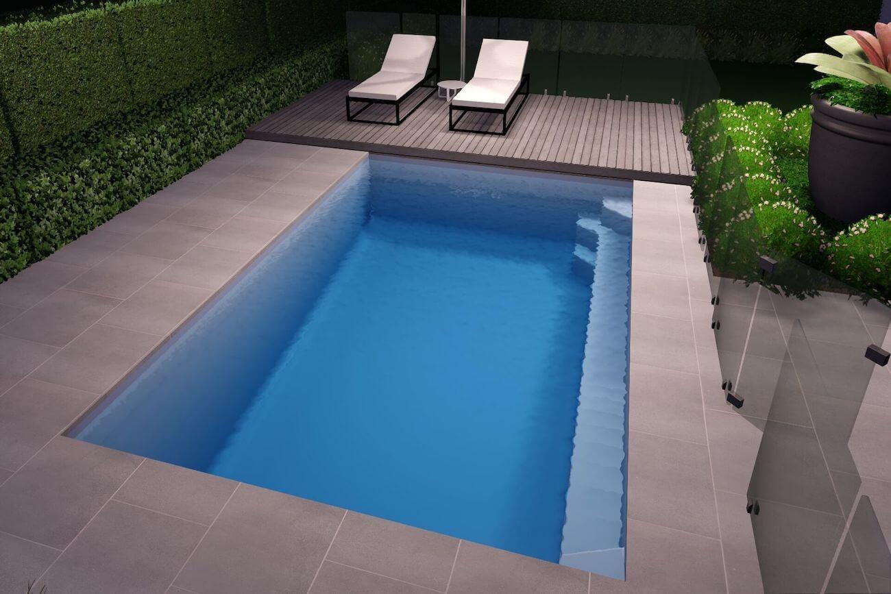 Hampton Pool6m x 4m