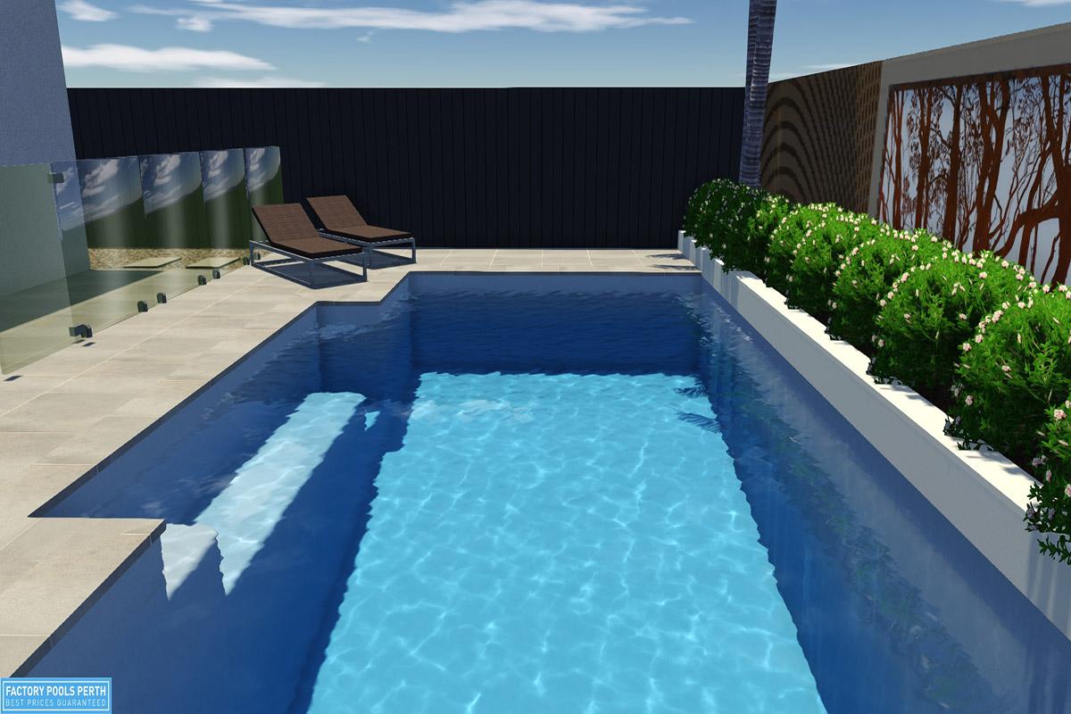 Medina Pool7m x 3.6m
